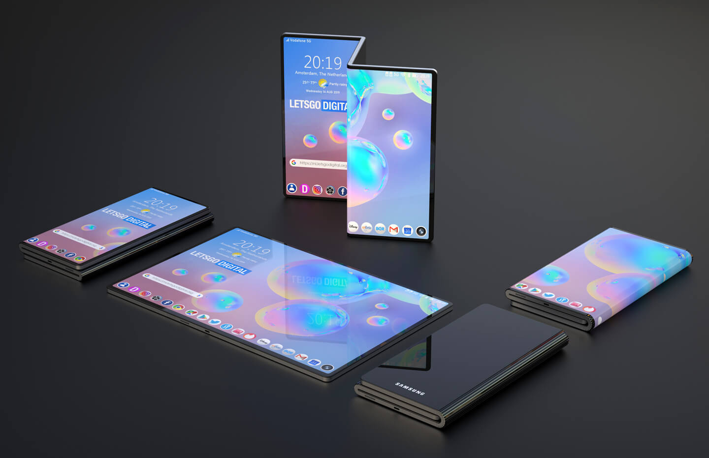 Huawei Mate X will launch in November after Samsung Galaxy Fold