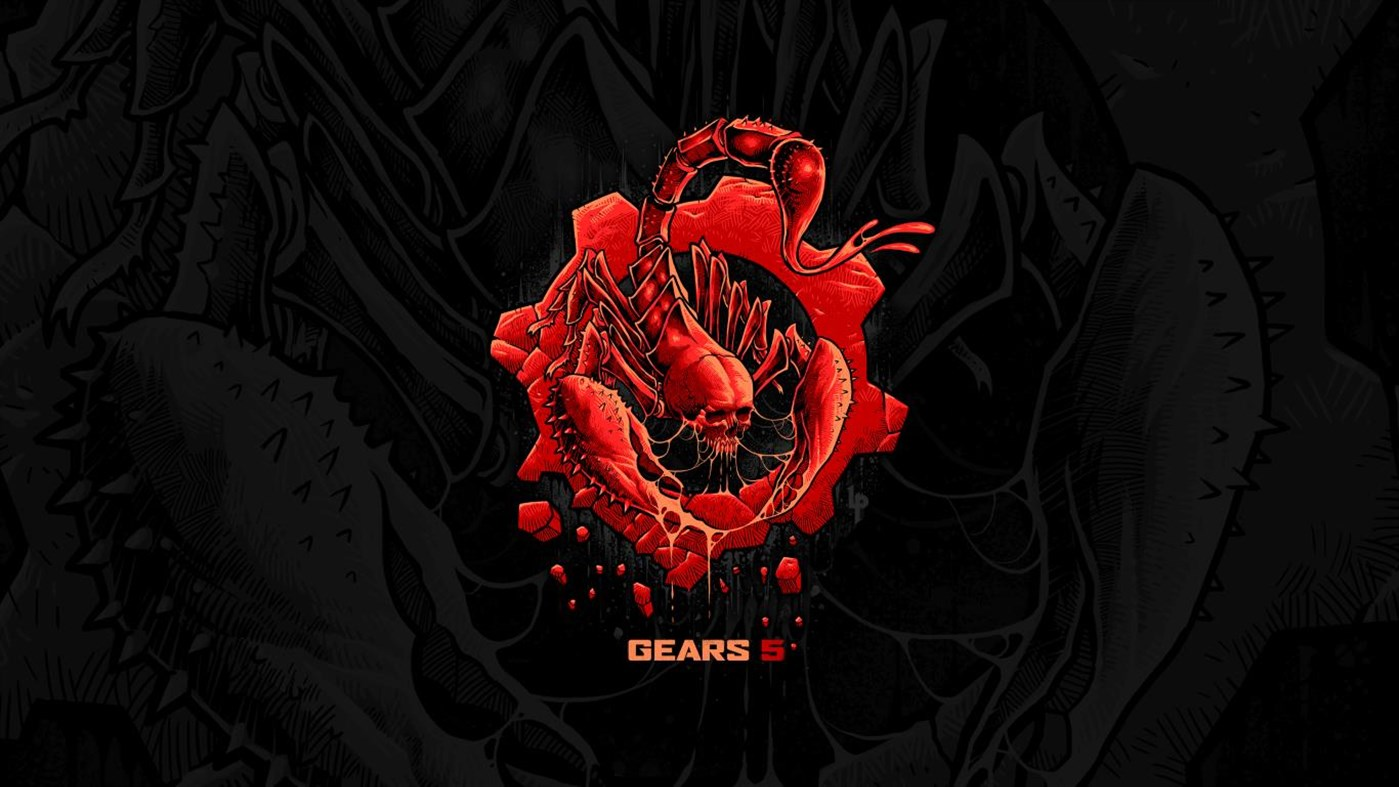 Microsoft celebrate Gears 5 with new free  Gears 5 by Luke Preece Windows 10 wallpaper pack 2