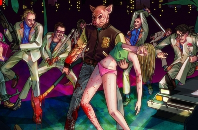 Hotline Miami Collection available today on Nintendo Switch 1
