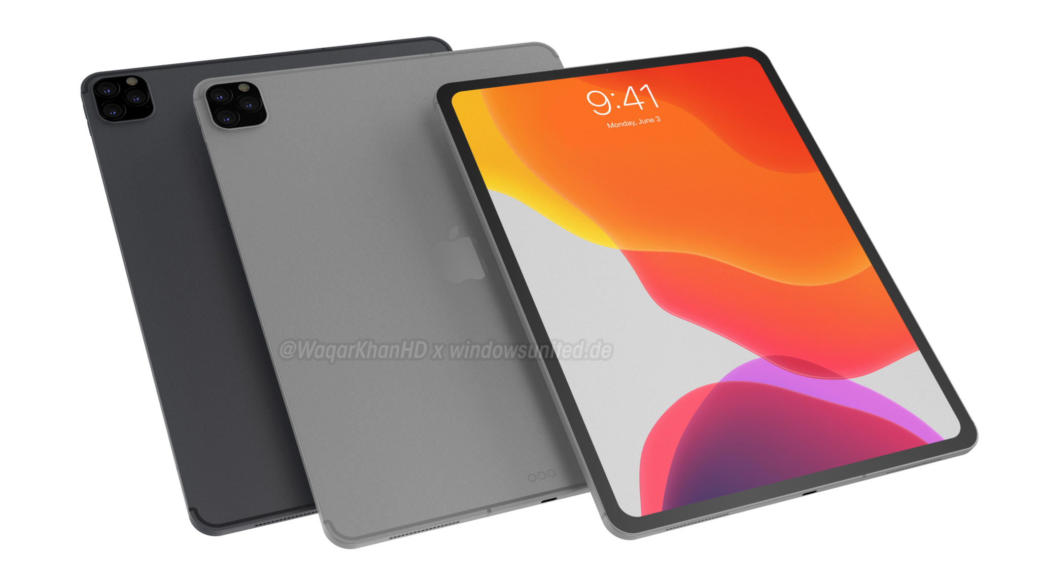New renders give us the first look at the upcoming iPad Pro 2019 -  MSPoweruser