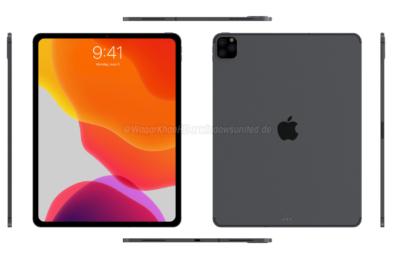 Upcoming iPad Pro with triple-camera setup leaked 8
