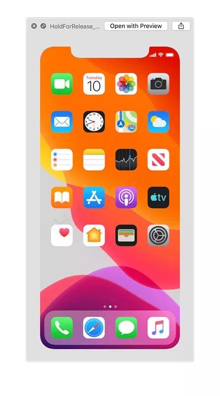 La nouvelle version bêta d'Apple révèle une date de lancement possible pour l'iPhone 11 ios13betaimage