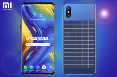 Xiaomi designs a smartphone with integrated solar panel 10