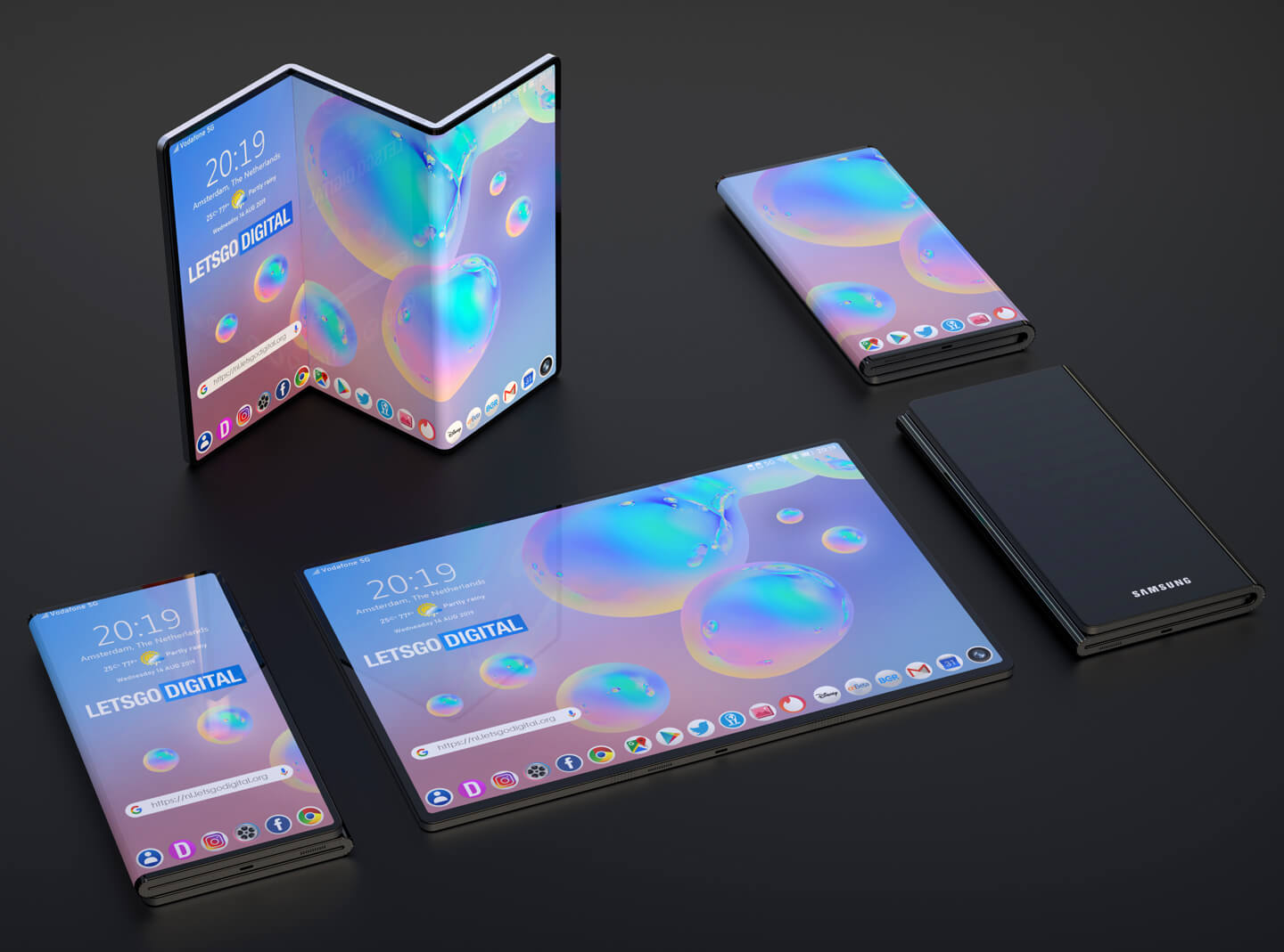 Samsung joins the tri-fold smartphone bandwagon with new patent 9