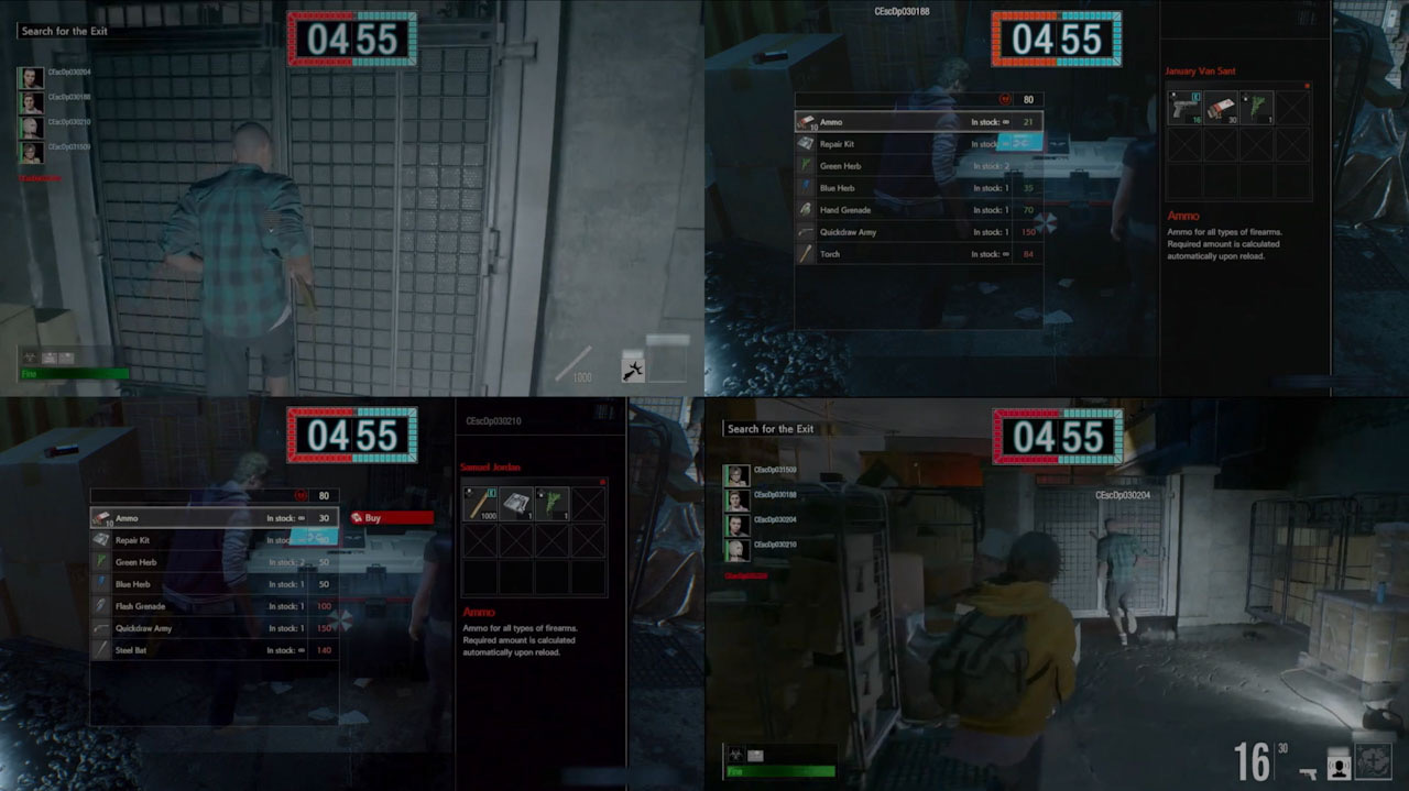 photo of Resident Evil Project Resistance is a 4v1 asymmetric multiplayer game image