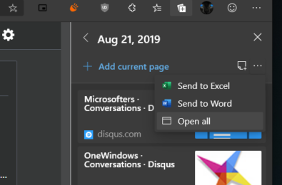 Edge Collections now nearly as good as Set Aside tabs 1