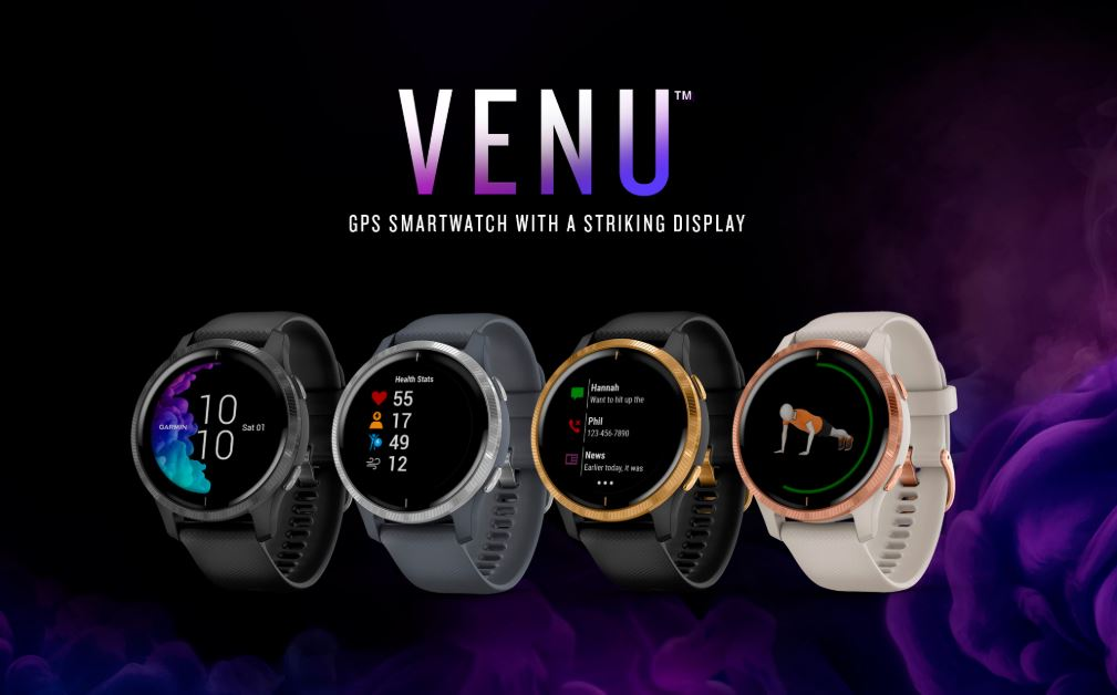 Garmin takes on Apple Watch with the new Venu smartwatch