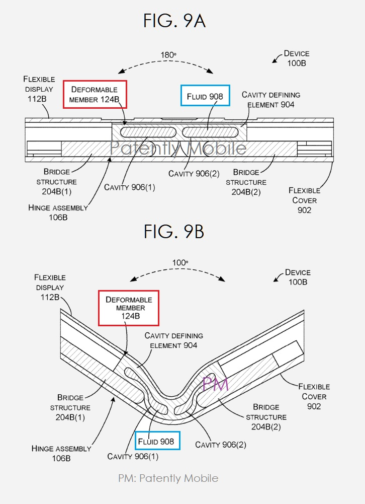 Microsoft patent shows off a new kind of hinge system 1