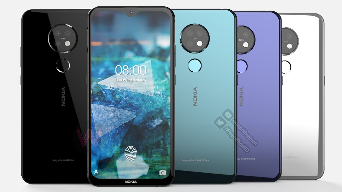 New renders show Nokia 7.2 from every angle - MSPoweruser