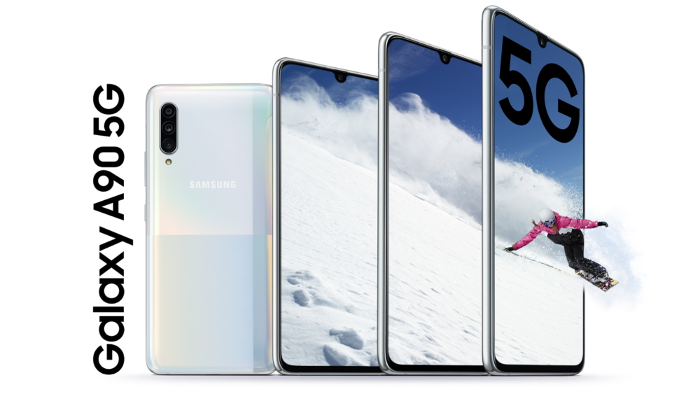 Samsung announces the new Galaxy A90 5G, its first mid-range