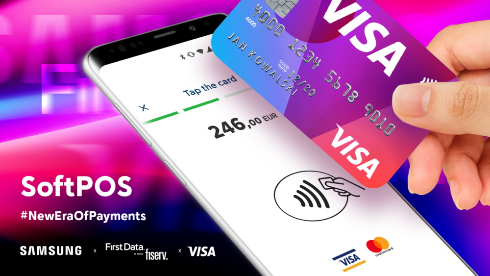 Samsung partnering with Visa to turn your smartphone into a