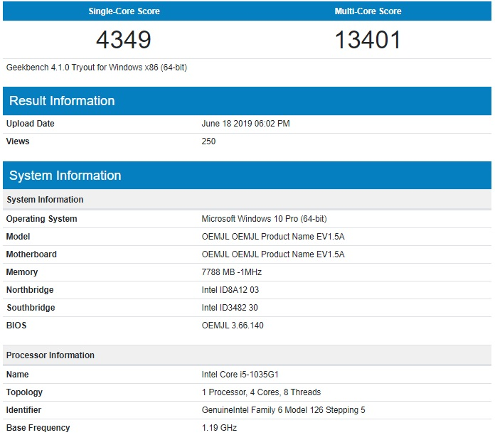 Next gen Surface with Intel Ice Lake processor spotted on
