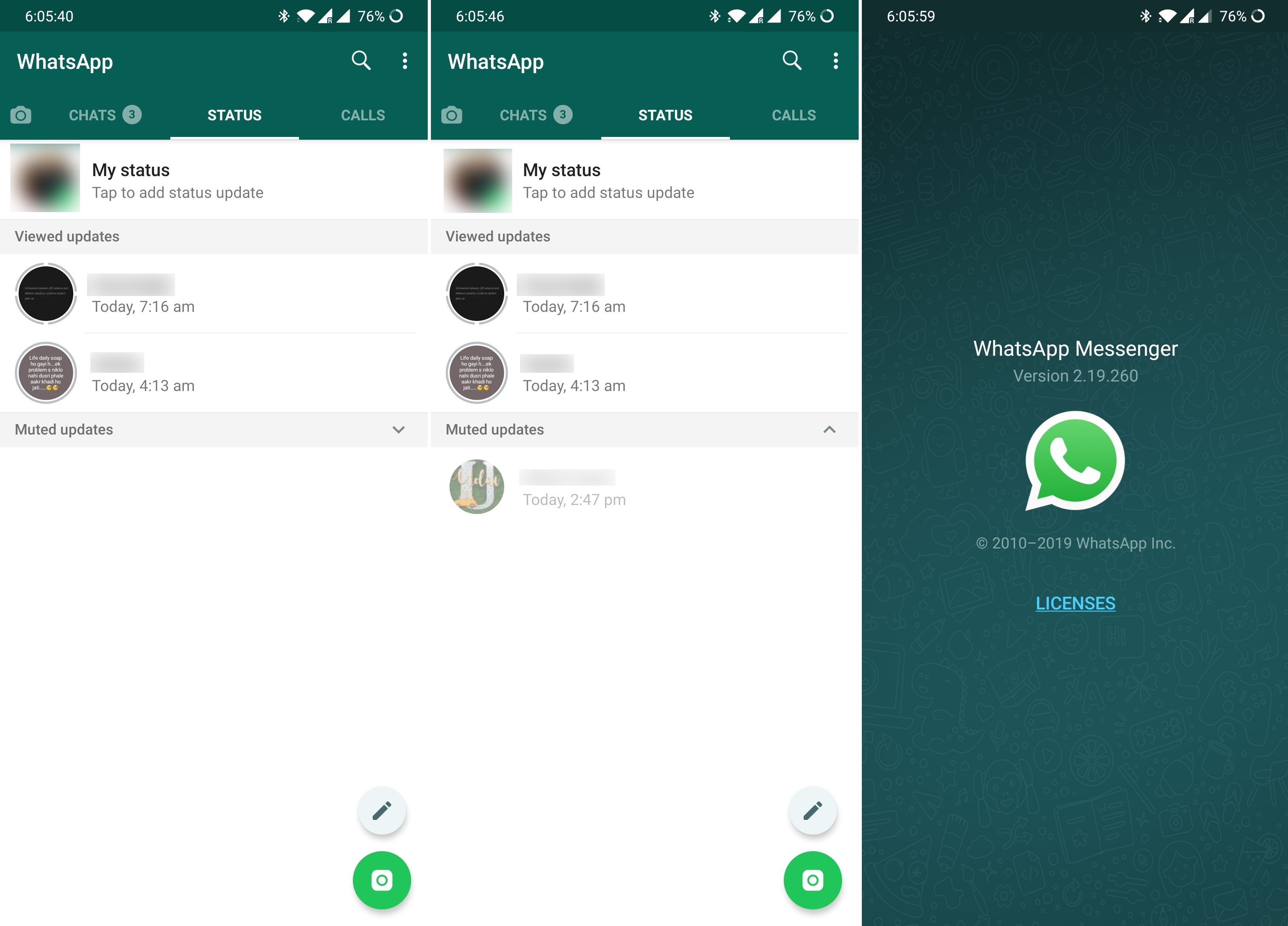 Whatsapp Now Allows Users To Hide Muted Status Updates