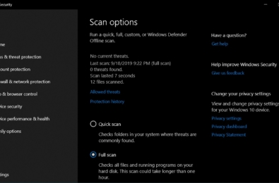 Microsoft's new update breaks antivirus scans on Windows 10 12