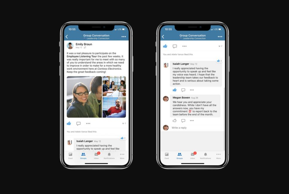 Microsoft announces new conversation experience for Yammer Mobile 1