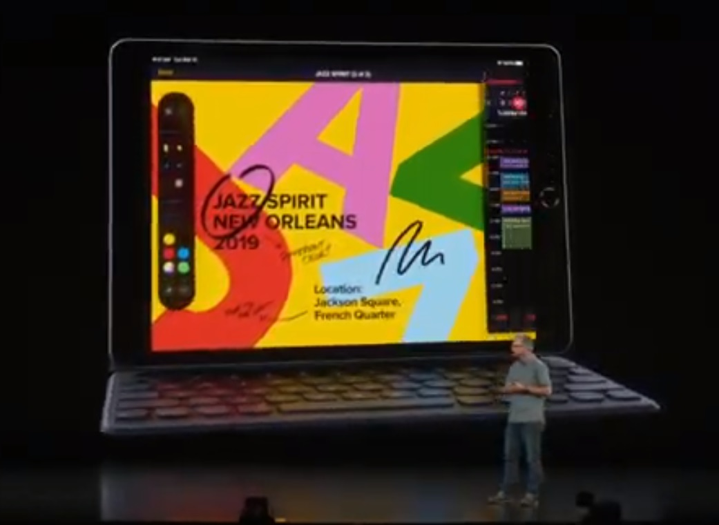 Apple announce updated 7th gen iPad with better support for smart connector 1