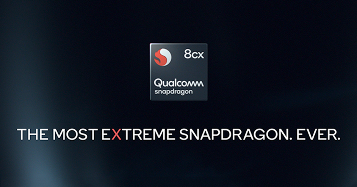 Leaked benchmark of Snapdragon 8cx lives up to performance promises