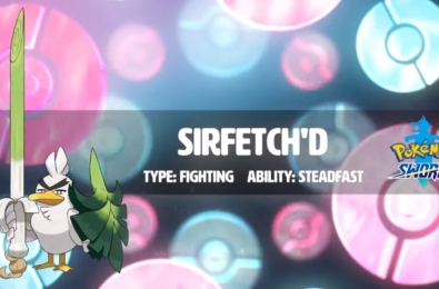 Pokémon debuts its latest Galar exclusive in the form of Sirfetch'd 4
