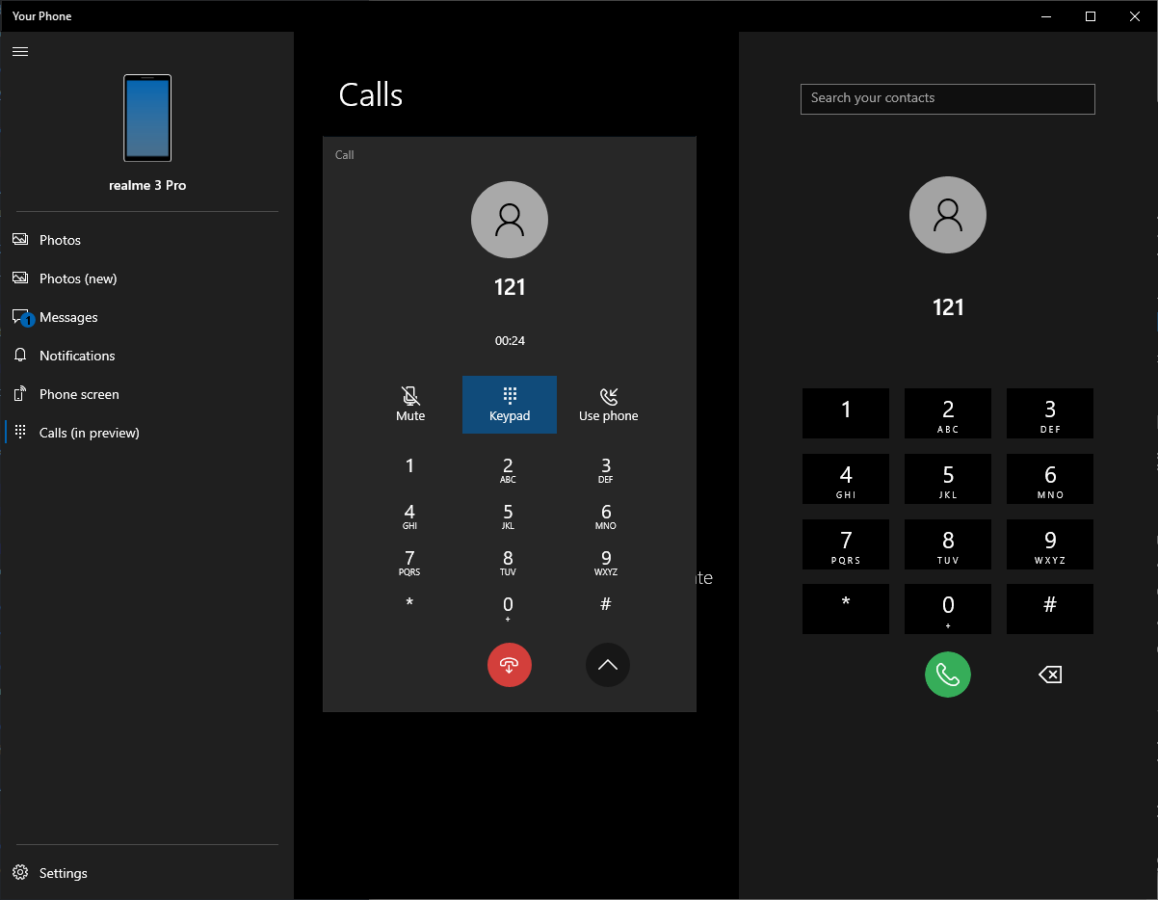 Your Phone app will soon support making calls from your desktop 1