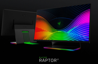 Razer announces the Razer Raptor gaming monitor with 144Hz display 1