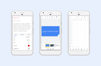 Google Docs, Sheets, and Slides app updated with new look and feel for Android devices 6