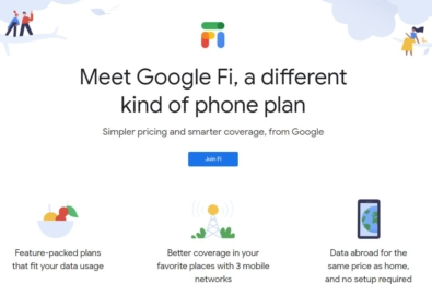 Google Fi will offer better LTE coverage on Pixel 4 by connecting to two LTE networks at once 1