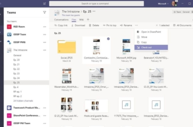 Microsoft Teams gets new file and sharing experiences 12