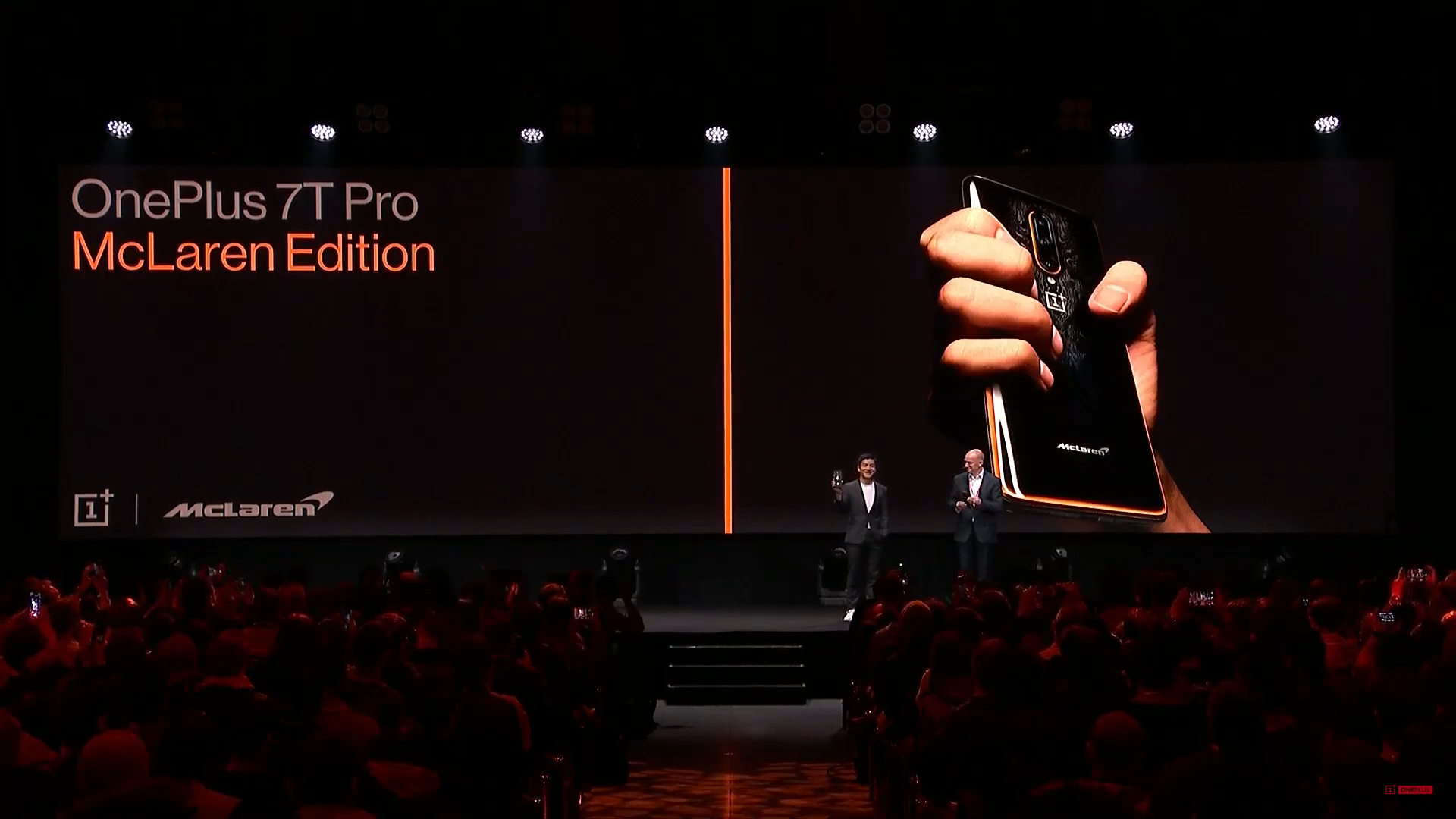 OnePlus unveils OnePlus 7T Pro and 7T Pro McLaren Edition at their event in London 3