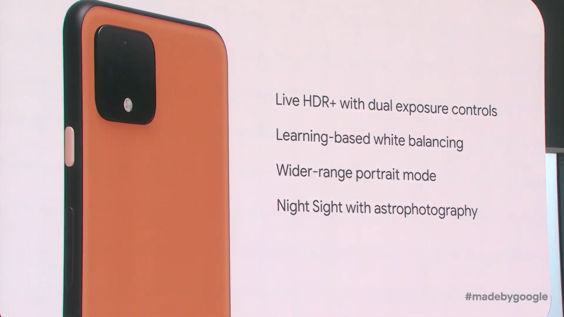 Google Pixel 4 comes with these four unique camera features 1