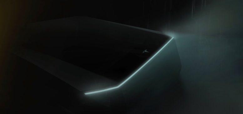 Tesla's designer may have leaked the design elements of Elon Musk's 'Cybertruck' 2