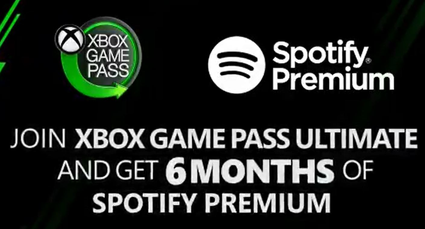 Join Xbox Game Pass And Get 6 Months Of Spotify Premium For