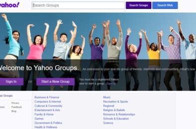 Yahoo Groups will be dead in December 5