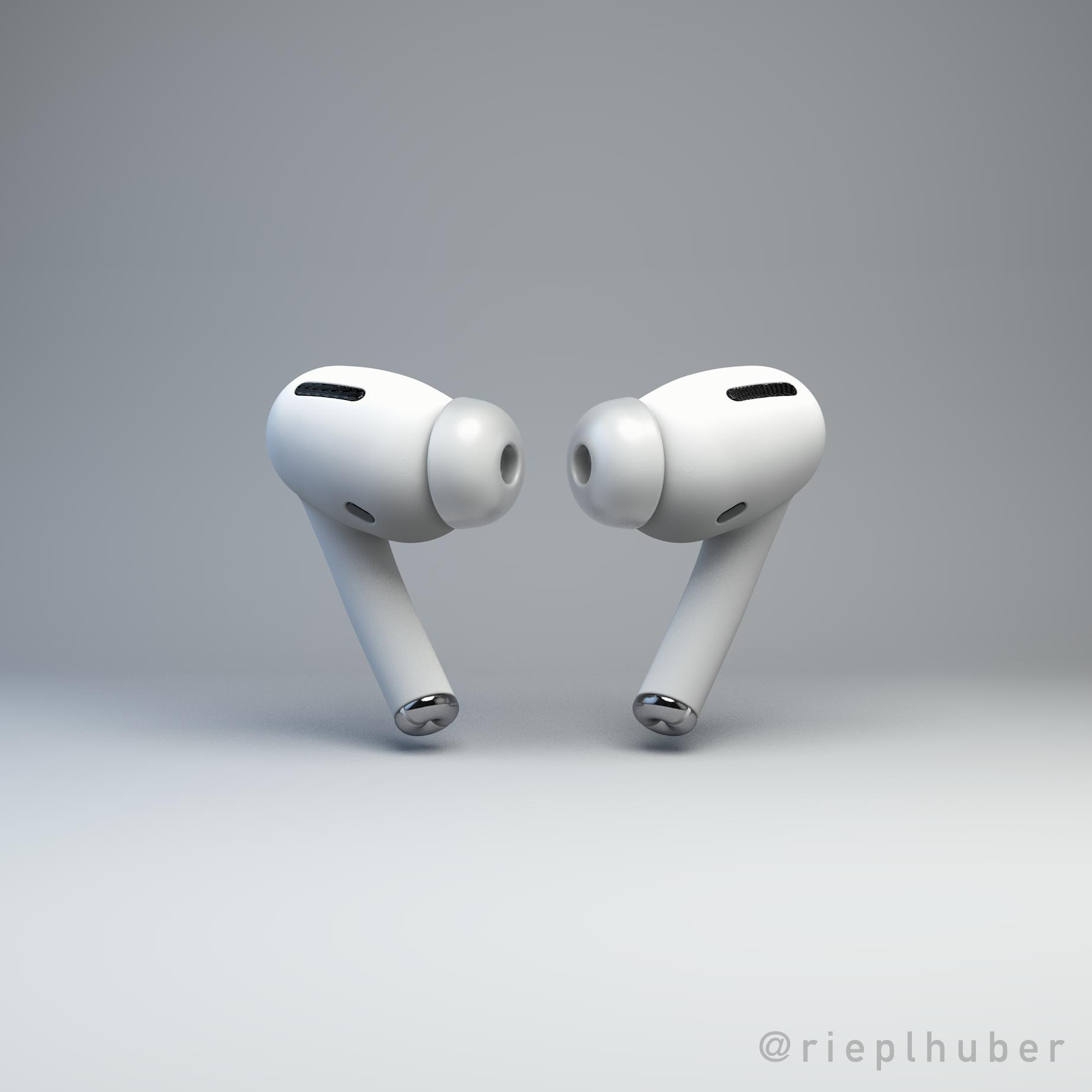 Apple's Noise-Cancelling AirPods Pro Rumored For Late October Release