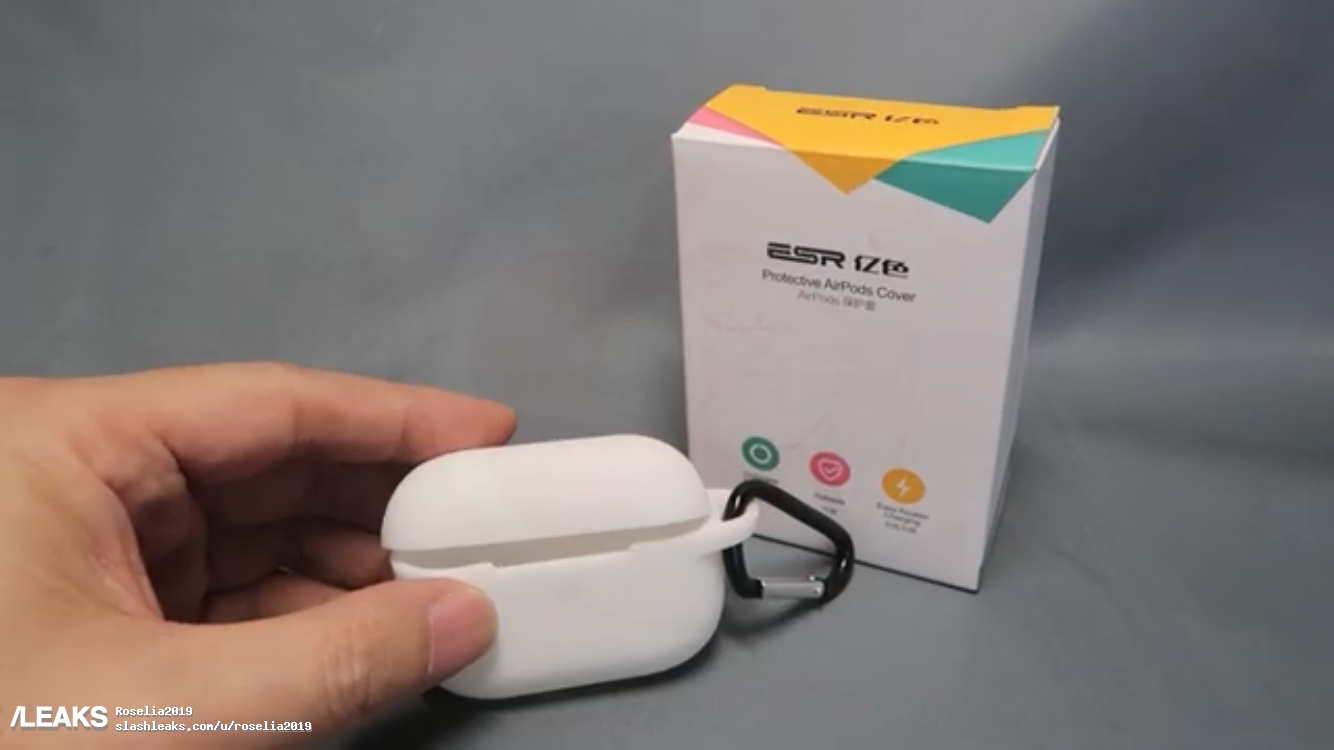 New Apple Airpods Pro protective case images leaked 4