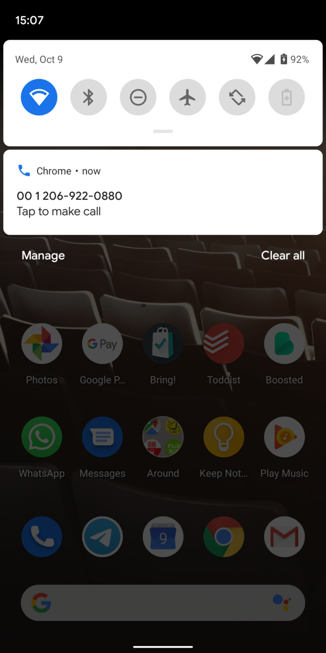 Chrome Beta for Desktop will now help you make phone calls on your smartphone 2
