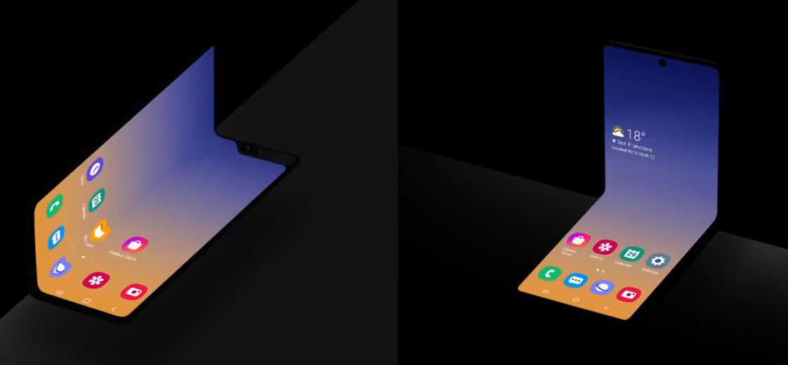 Samsung teases clamshell folding Galaxy Fold 2 at SDC 2019 1