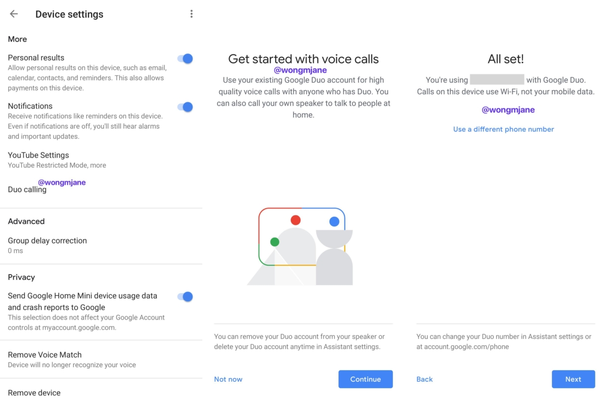 Google Home will soon support Duo voice calls 1