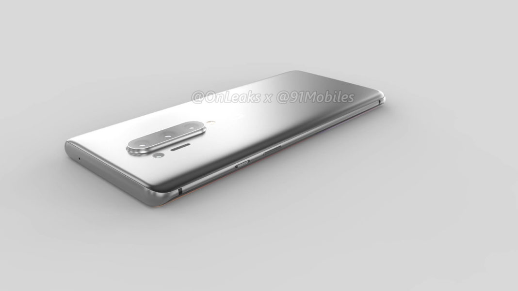 OnePlus 8 Pro: 360 degree renders leaked online, reveals punch-hole camera, quad camera setup and more 12