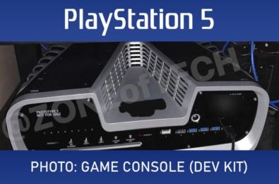 PS5 dev-kit photo gets leaked online 1