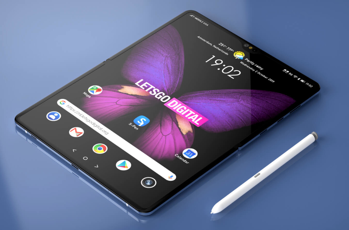 The Samsung Galaxy Fold 2 will likely support the S-Pen 1