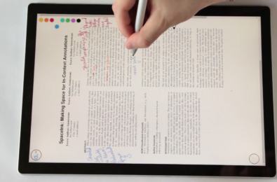 Microsoft Research develop technology to revolutionise document annotation (video) 13