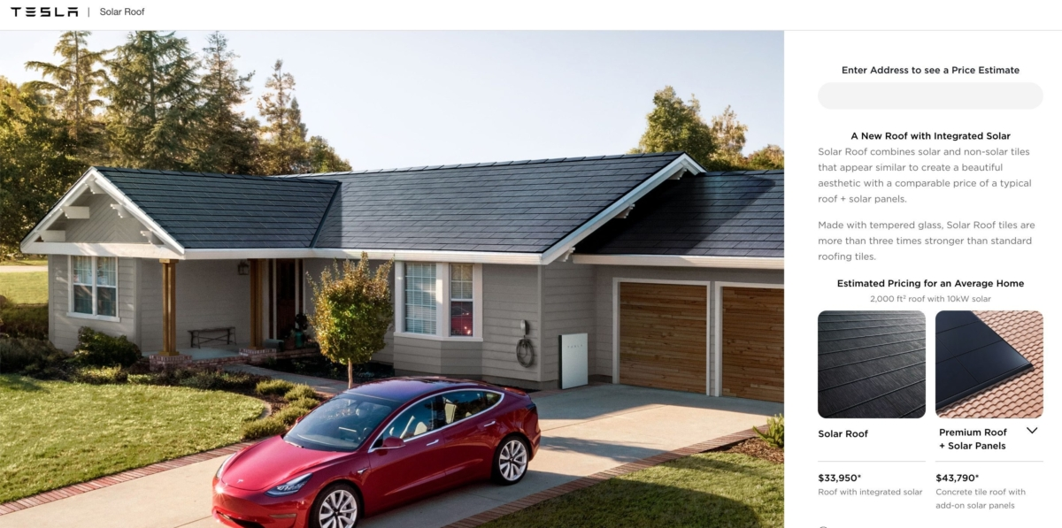 Elon Musk post update on international Tesla Solar Roof roll-out