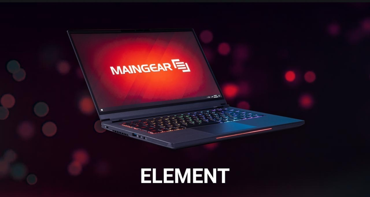 Maingear releases Maingear Element, a powerful and sleek gaming laptop 1