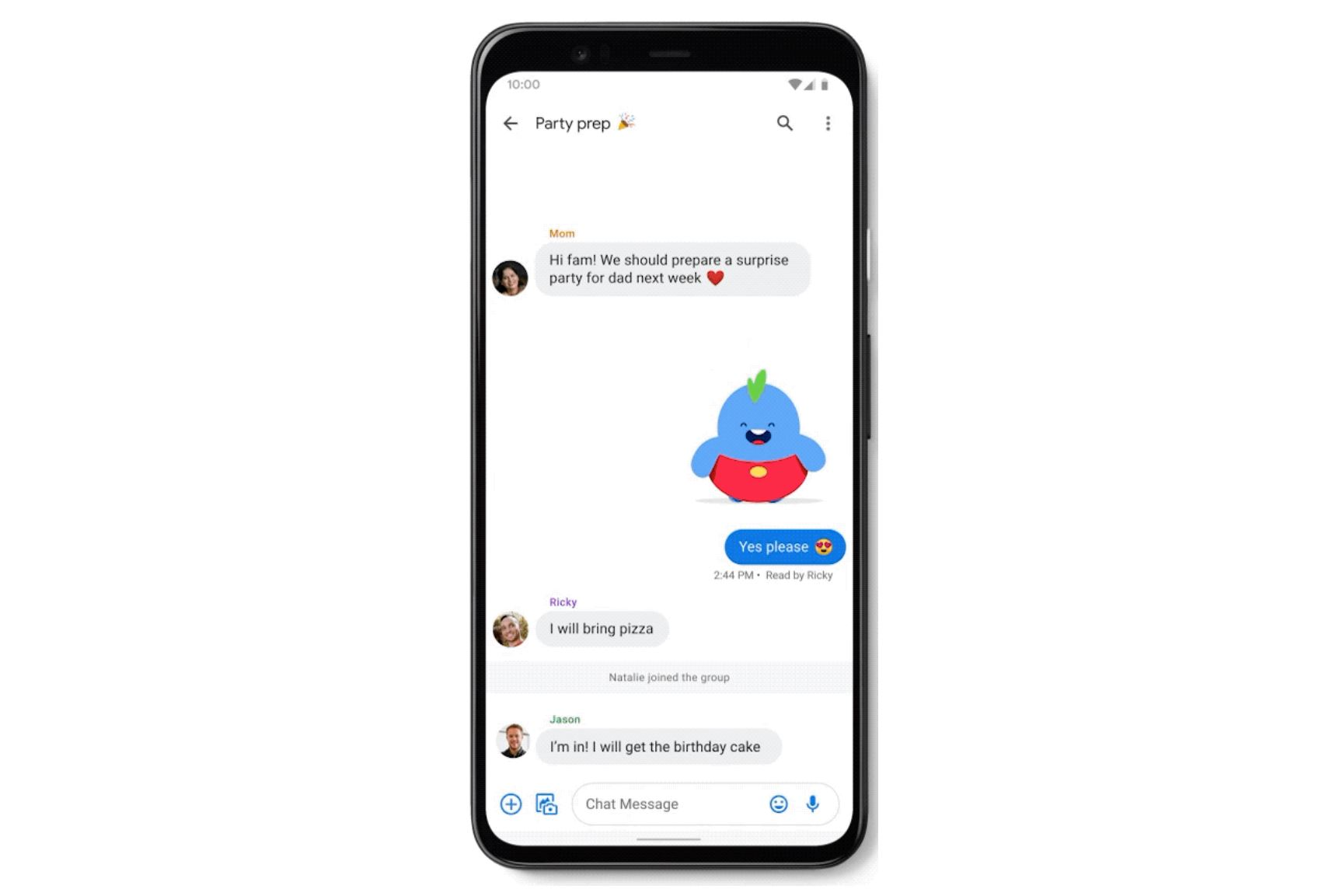 Google takes on iMessage with RCS-powered messaging experience for Android users