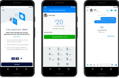 Meet Facebook Pay, an unified payment experience for all Facebook apps 14