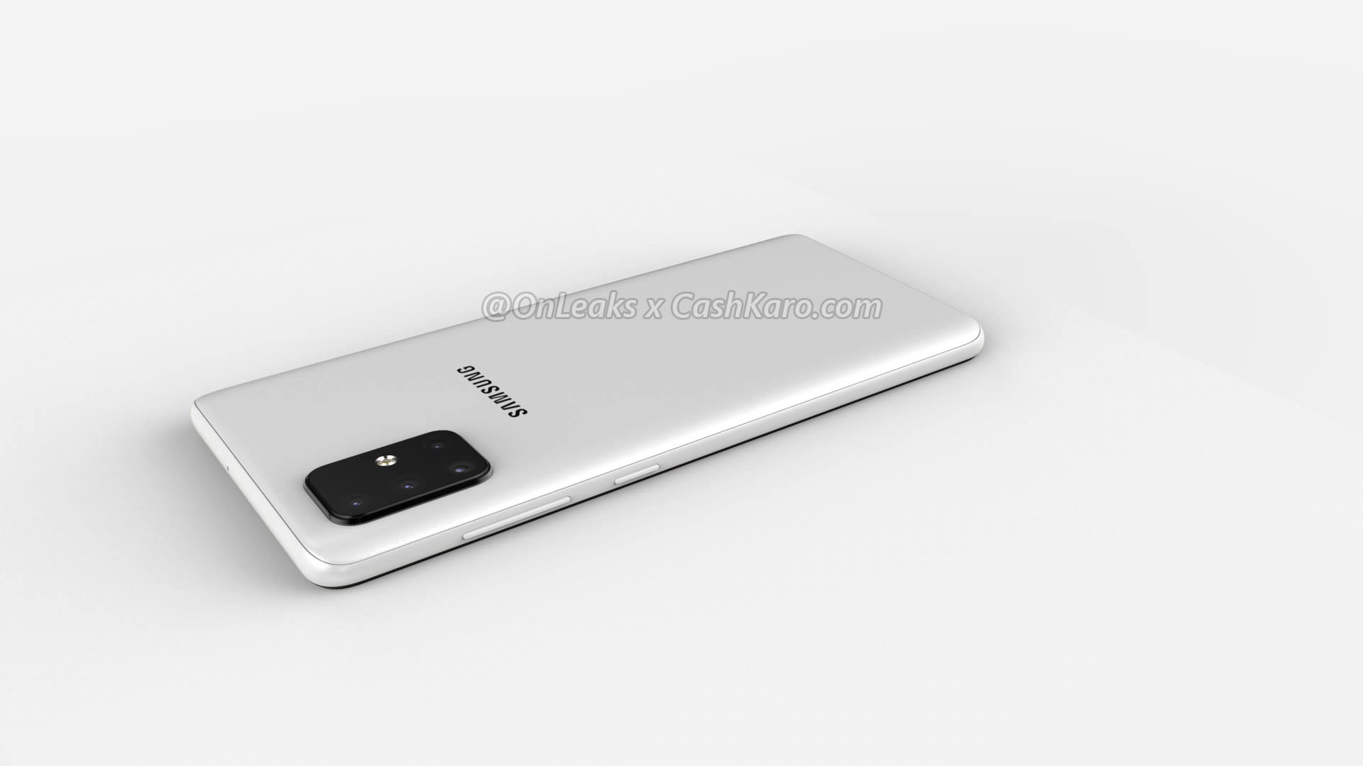 Samsung's upcoming Galaxy A71 smartphone render images and 360 Degree Video leaked online 5