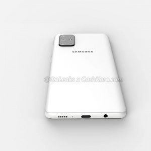 Samsung's upcoming Galaxy A71 smartphone render images and 360 Degree Video leaked online 4