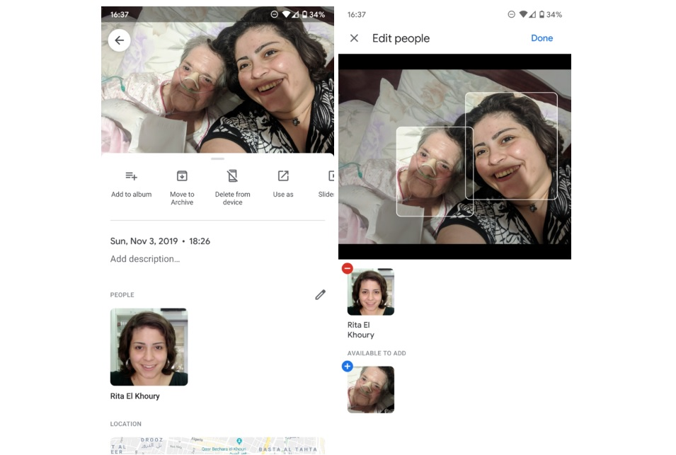 Manual face tagging is finally in Google Photos, but with a caveat