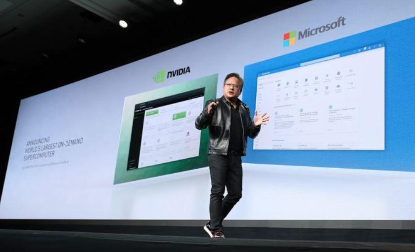 Microsoft apporte le super-ordinateur alimenté par NVIDIA GPU à Azure Microsoft Azure supercomputer