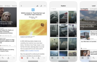 Microsoft News app for iOS now supports iOS system-side Dark Mode 5